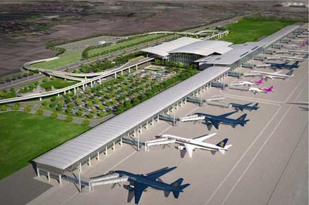 US experts, aviation industry, Noi Bai International Airport, Tan Son Nhat Airport