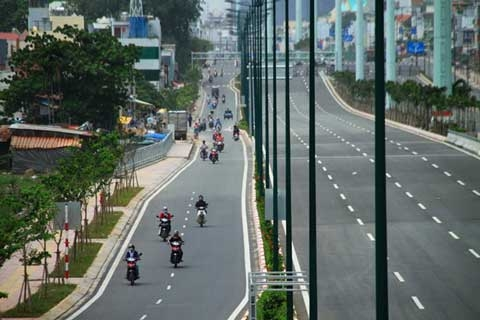 highway, new road, hcm city