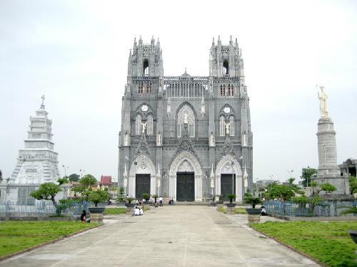 basilicas, vietnam, church