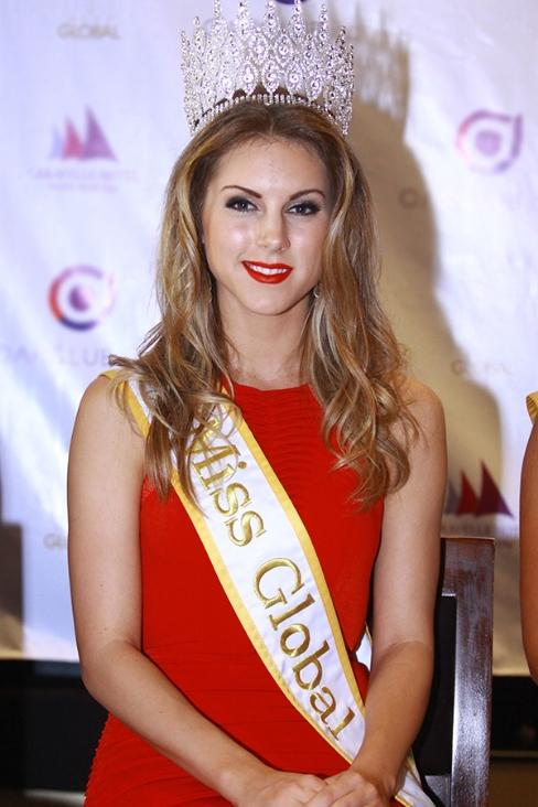 Miss Global arrives in HCM City