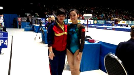 Ha Thanh placed sixth at World Championships finals
