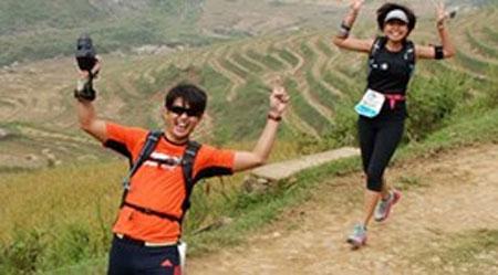 Marathon, mountain marathon, Lao Cai, Sa Pa, 'Running Man'