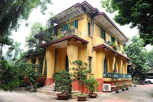 General Vo Nguyen Giap, Ha Noi, 30 Hoang Dieu Street, French architecture