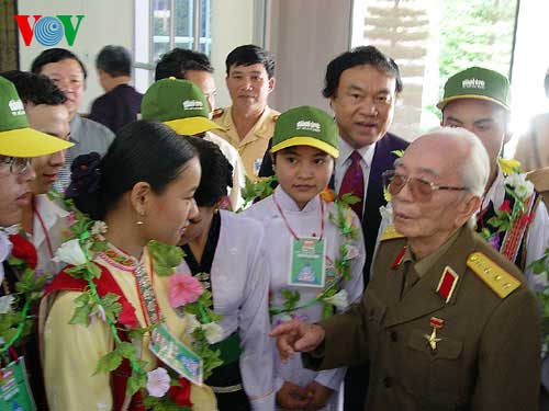 General Vo Nguyen Giap, Dien Bien Phu campaign victory, French colonial rule
