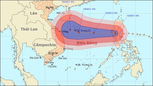 Typhoon Nari lands in East Sea