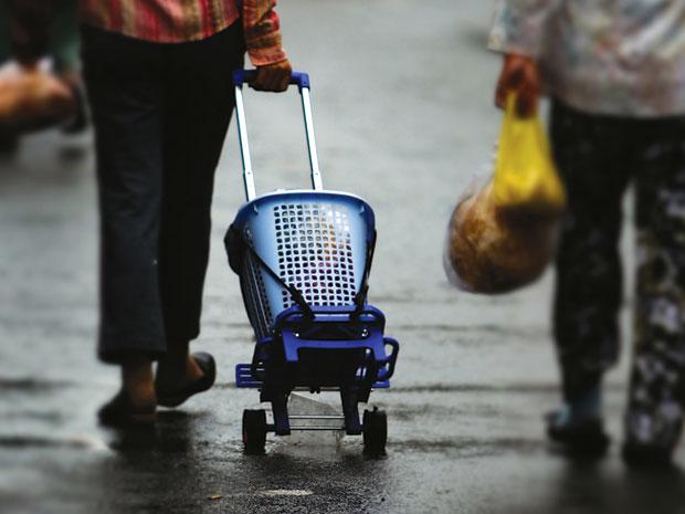 shopping service, market, family, women