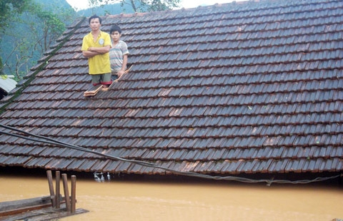 In pictures: Central region wrestles with floods