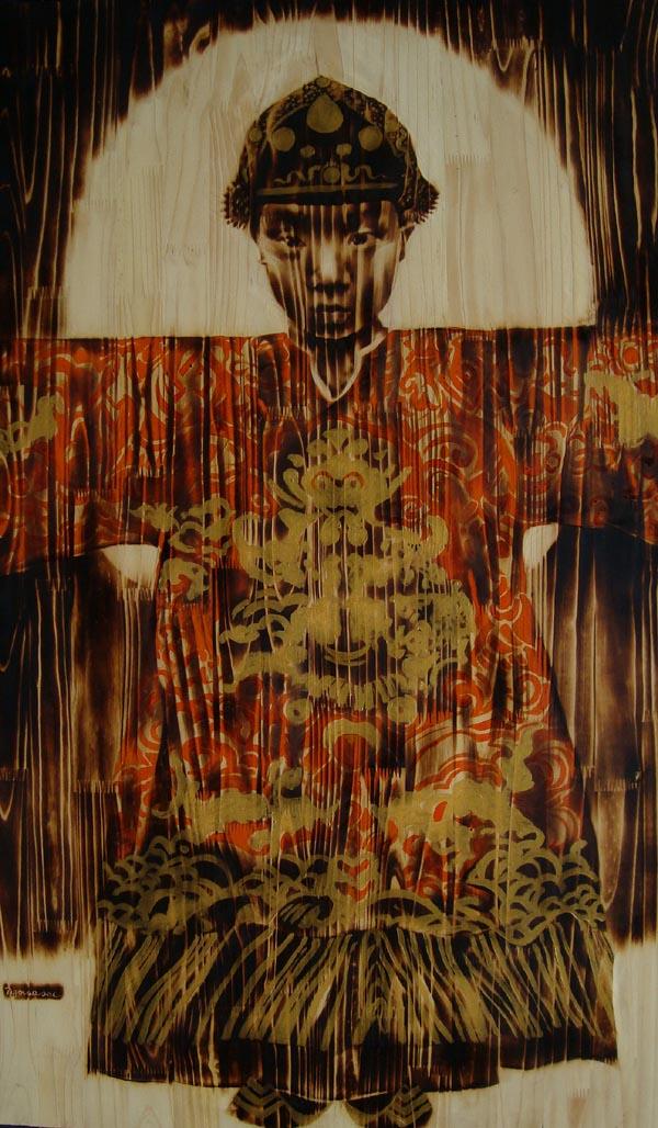 Ngo Van Sac, wood, burning, paintings, dogma award