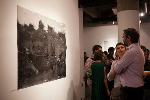 boite project, mir gabre, painting exhibition, box
