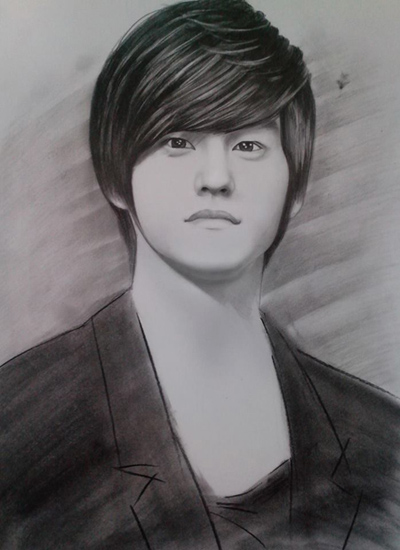 Lively Celeb Portraits In Pencil Sketches - News VietNamNet