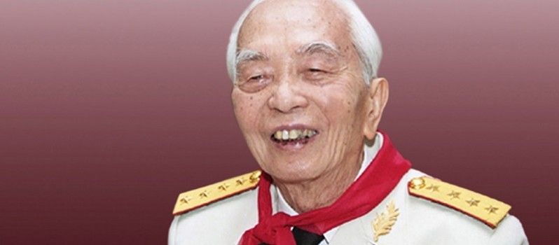 "Textbooks for general school students ""forget"" General Giap"