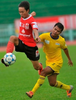 K. Kien Giang, V-League, withdrawal, give up, first division tournament