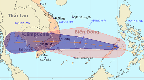 13th storm, east sea, vietnam, landfall, tropical depression