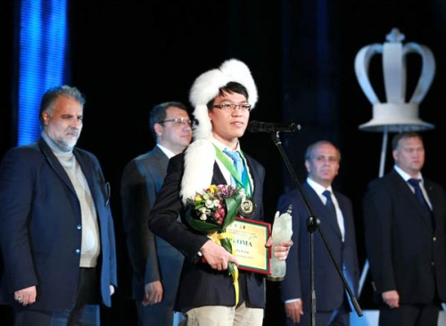 Le Quang Liem ranks second in the world for blitz chess