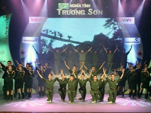 An art performance was held in Ho Chi Minh City on November 11 to commemorate fallen soldiers who fought along the Truong Son-Ho Chi Minh Trail during the national liberation war.