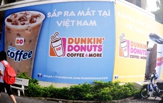 Dunkin' Donuts, vietnam, franchise, starbuck, coffee