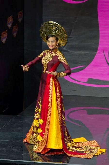 Truong Thi May S Full Effort Process At 2013 Miss Universe