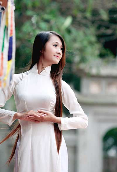 Evolution Of The Ao Dai News Vietnamnet