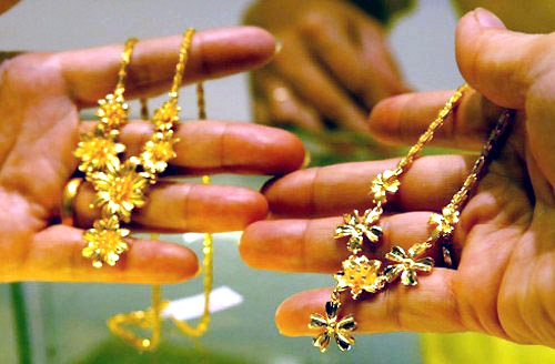 jewelry market, foreign investor, gold