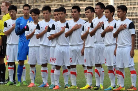 The output of U19 Vietnam is J-League?