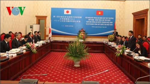 Vietnam, Japan hold first security dialogue