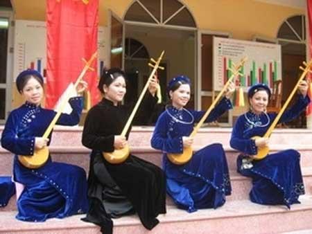 Tuyen Quang, Chiem Hoa, Tay people, Then singing