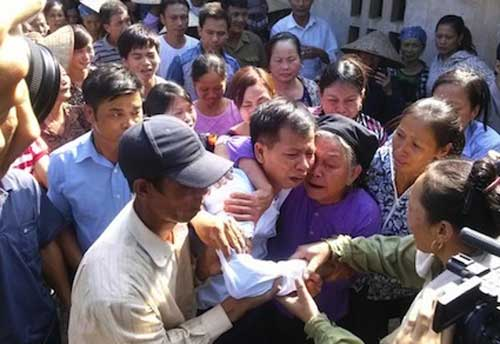 Bac Giang police, mistakes, Nguyen Thanh Chan