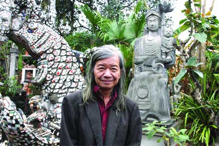 Bac Giang, sculptor Anh Vu, statues