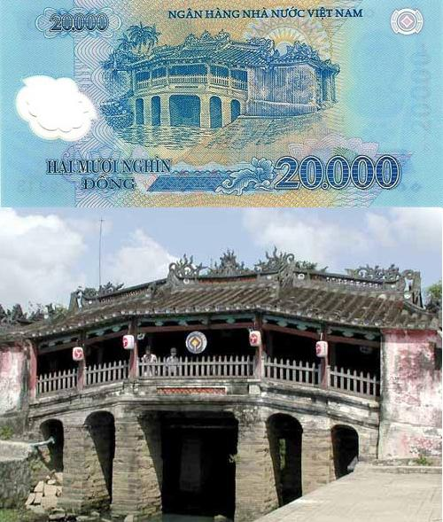 Five famous places on Vietnam's banknotes