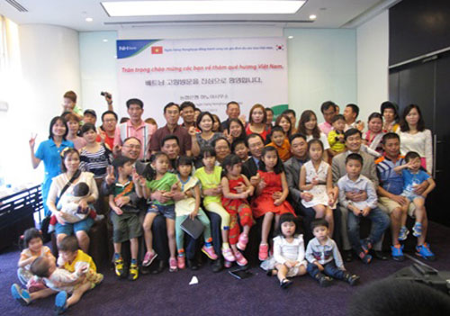 Korea, Vietnamese brides, coming home