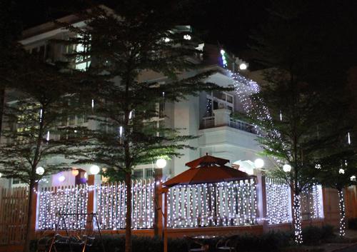 phu my hung, christmas, saigon, the rich, decoration