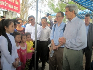 climate change adaptation, US assistance,  John Kerry