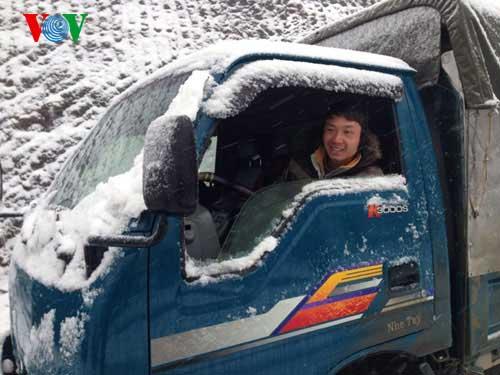 Snow, Sa Pa, Lao Cai, cold weather