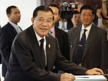 Prime Minister Hun Sen. — Photo THX