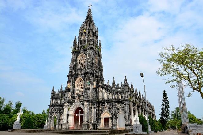 Unique architecture of churches in Vietnam
