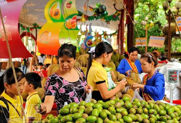 vietnamese fruit, fruit, dragon fruit, fruit export, mekong delta