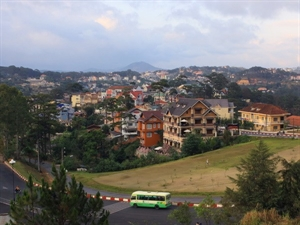Da Lat city offers wifi service for tourists