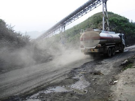 Lao Cai, air pollution, Sin Quyen copper mine
