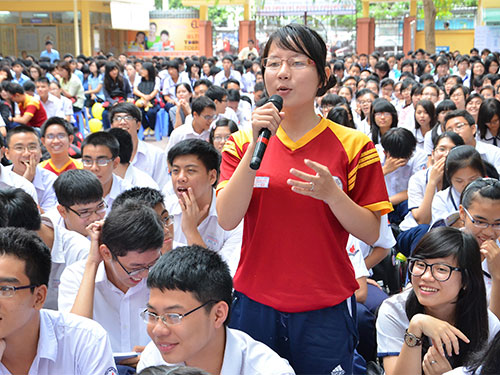 Most Vietnamese students don't have knowledge about their training majors