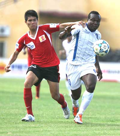 Gia Lai inks one-year deal with Nigerian player
