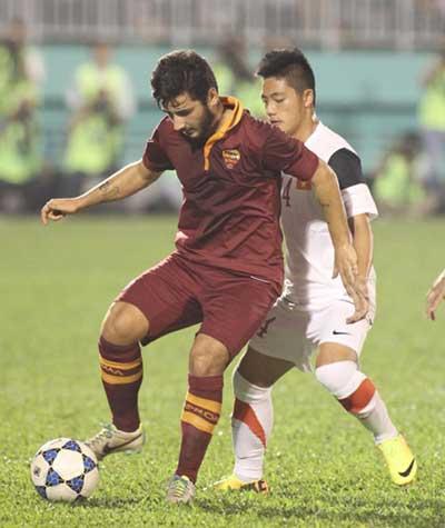 AS Roma, Viet Nam, U19 Football Tournament