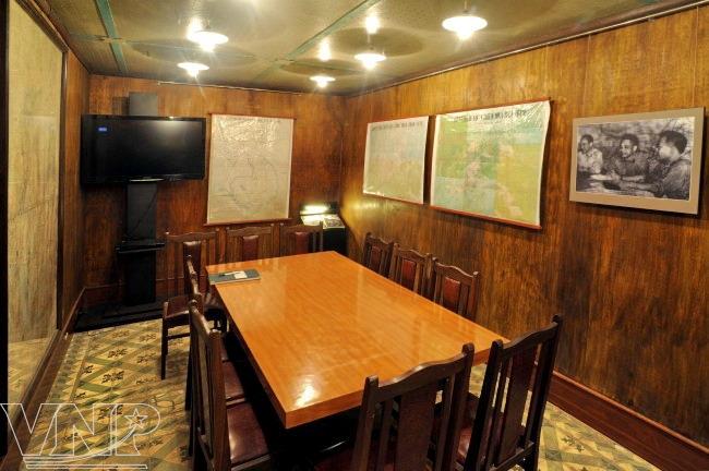Secret war bunker in Thang Long Citadel