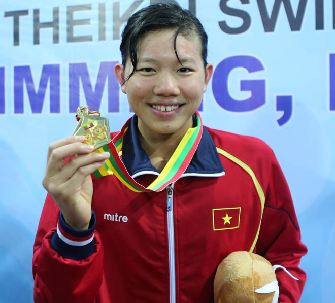 Swimmer Anh Vien voted top athlete of the year