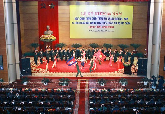 Vietnam, Cambodia commemorate victory over genocidal regime