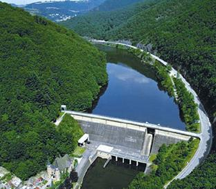 Most of rivers are cut into pieces by hydropower dams