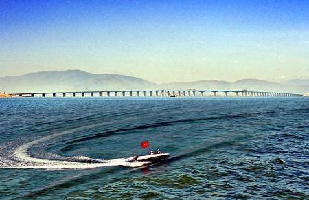 bridge across the sea, vu tan-huyen lach bridge, hai phong