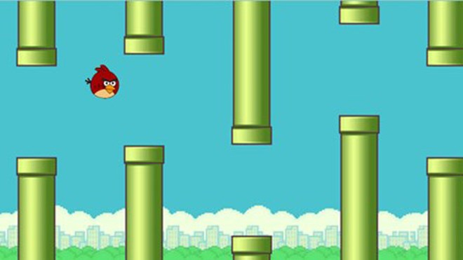Counterfeit Flappy Birds turn up, but cannot dim real Flappy Bird