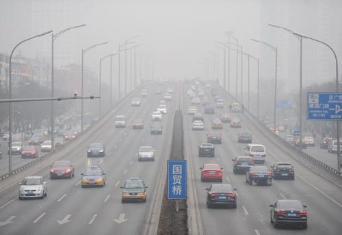 Beijing issues alert as smog smothers N China