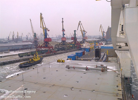 The second submarine to arrive in Cam Ranh Port in March