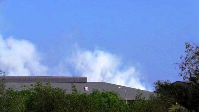 Da Phuoc garbage dump, fire